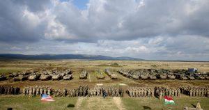 Amerikai - magyar hadgyakorlat a Dunántúlon